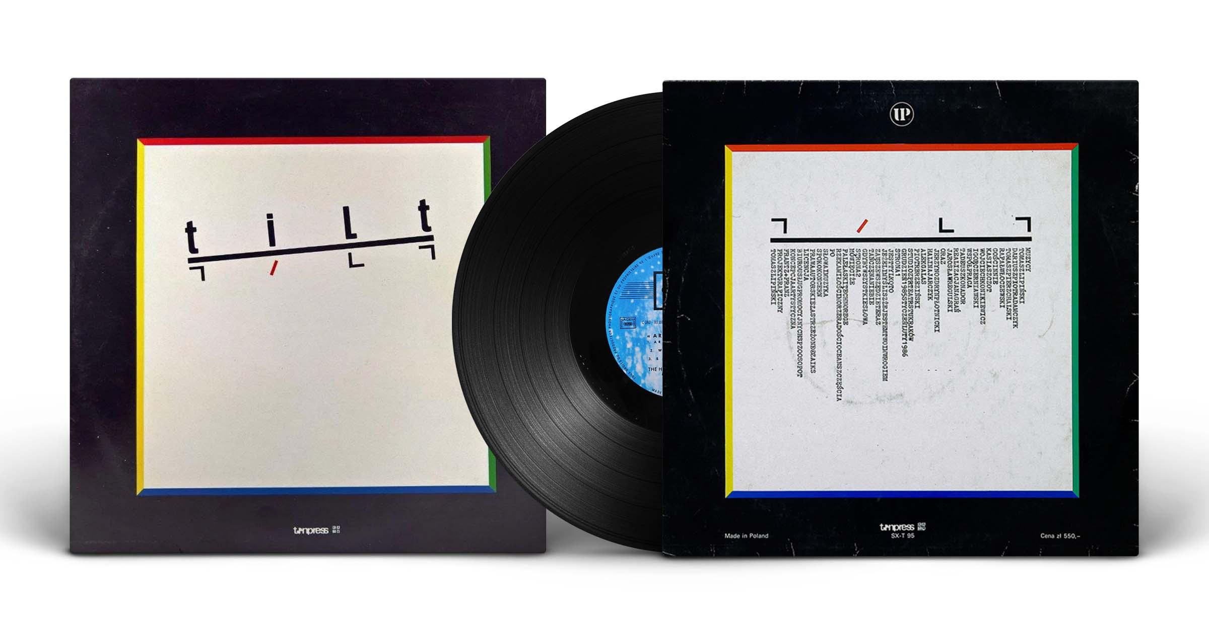 "Tilt, ""Tilt"", LP, Tonpress, 1988"