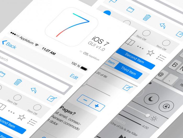 iOS-7-GUI-PSD