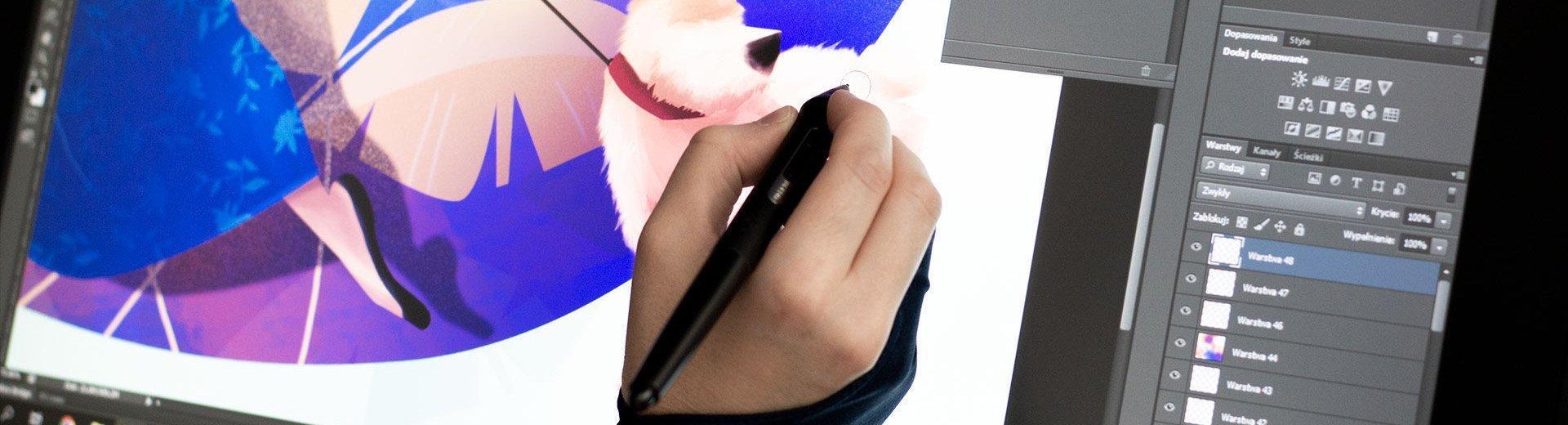 Okładka artykułu Recenzja tabletu Wacom Cintiq 22 — Budżetowa alternatywa dla fanów urządzeń z ekranem
