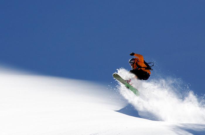 Snowboarder © Evgeny Vasenev