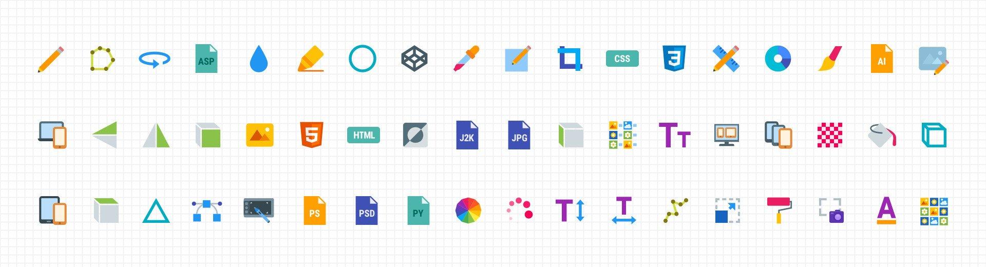 Okładka artykułu Webdesigner Icon Set — Ikonki specjalnie dla Was od Icons8