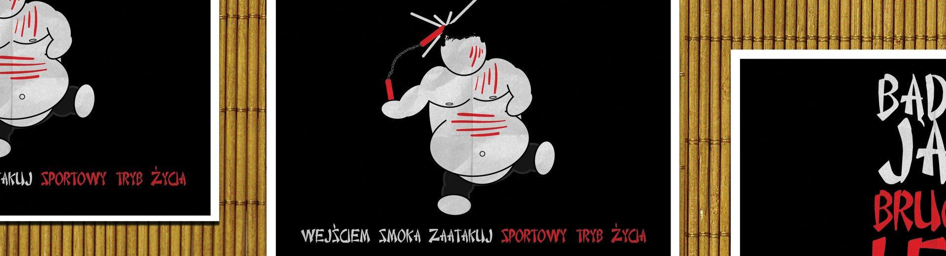 Okładka artykułu Plakat promujący sztuki walki — W programie Photoshop