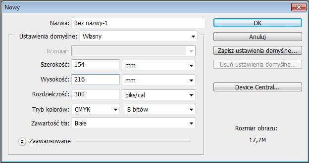 03 Tworzenie nowego dokumentu, CMYK, DTP