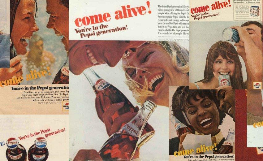 Okładka artykułu Ożyw się! Jesteś z Pokolenia Pepsi — Historia kampanii Pepsi Generation