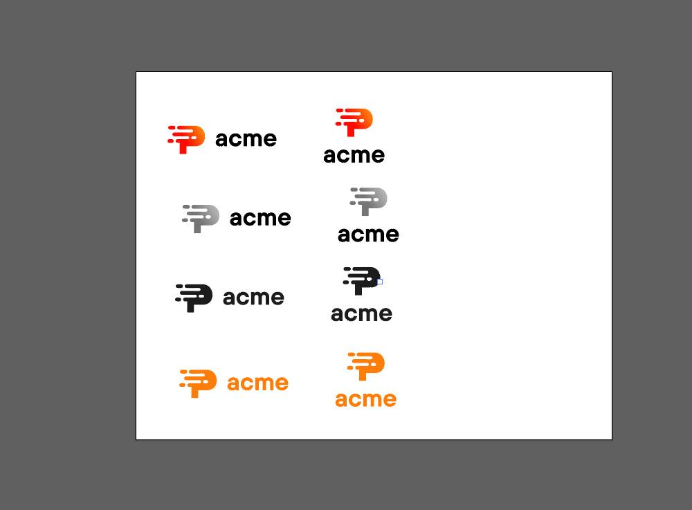 Różne wersje logo