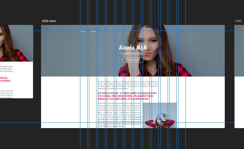 Okładka artykułu Projektowanie stron internetowych — Z wykorzystaniem obszarów kompozycji Photoshopa