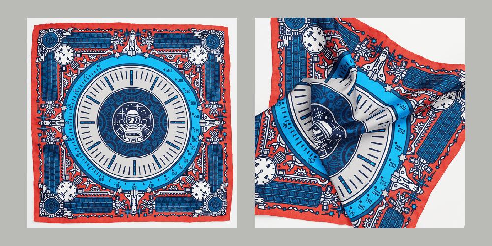 CH24 Pocket Squares, Jan Kallwejt