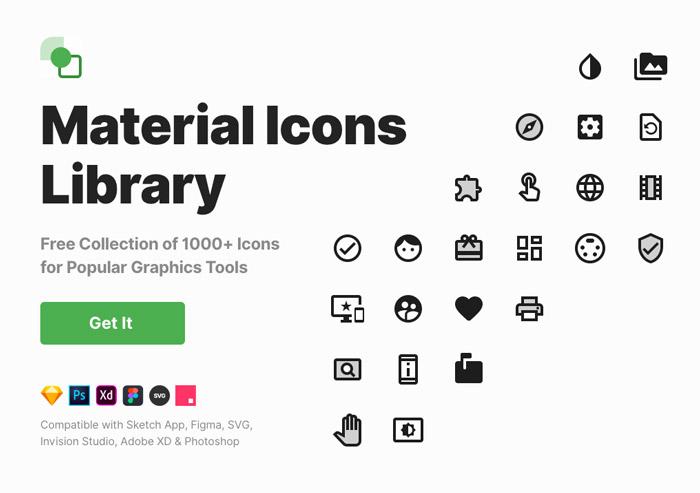 Ikony material design