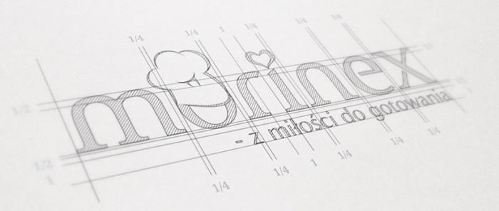 Szkic logo autorstwa Owocni