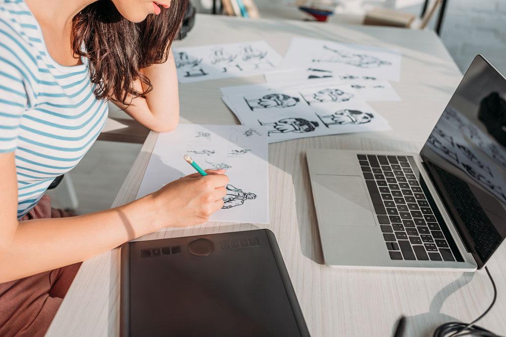 Ile wstępnych projektów logo pokazać klientowi?