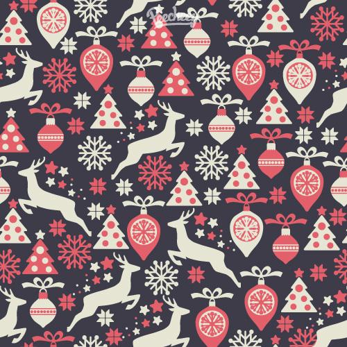 retro-christmas-seamless-pattern
