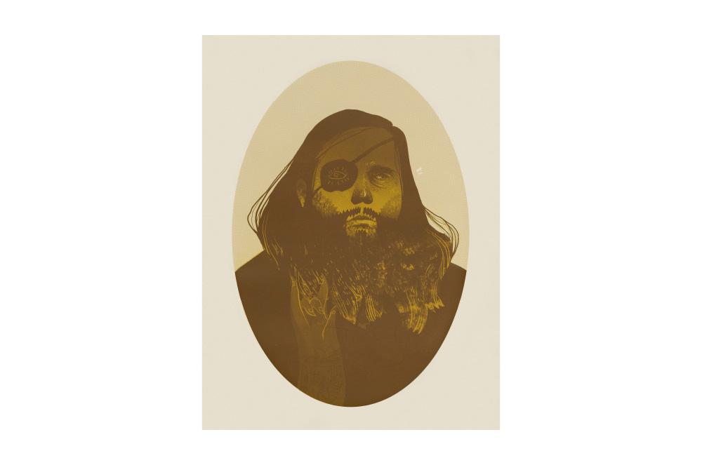Ilustracja mężczyzny wykonana cyfrowo