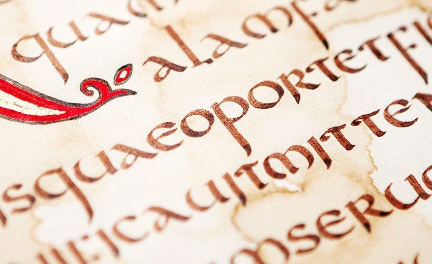 Okładka artykułu Kapitały i minuskuły — O początkach rozwoju pisma słów kilka