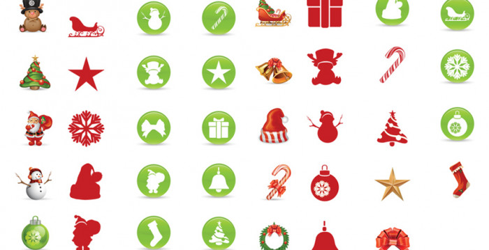 Free-Smashing-Christmas-Icon-Set