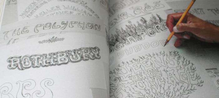 Typography sketchbooks Steven Heller Lita Talarico - recenzja 05