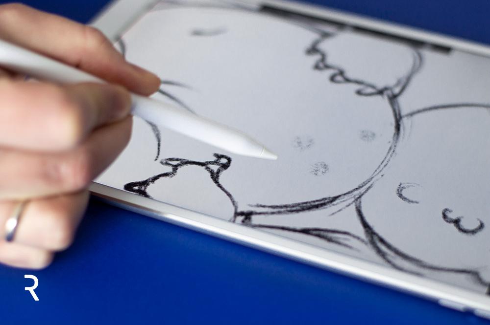 Rysowanie na iPad Pro, digitalpainting, recenzja