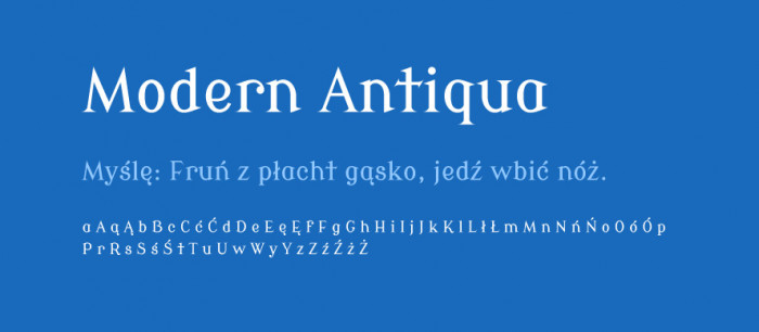 Modern-Antiqua-Round-materialy-Darmowe-fonty-z-polskimi-znakami