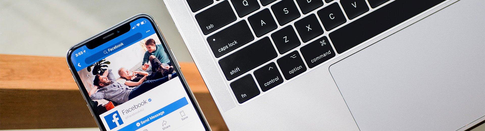 Okładka artykułu Jak zaprojektować cover na Facebooka? — Zdjęcie w tle poprawne na każdym urządzeniu
