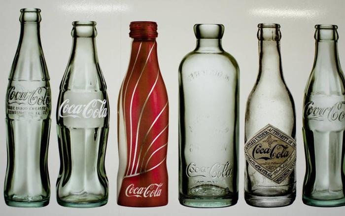 Butelki Coca-Coli