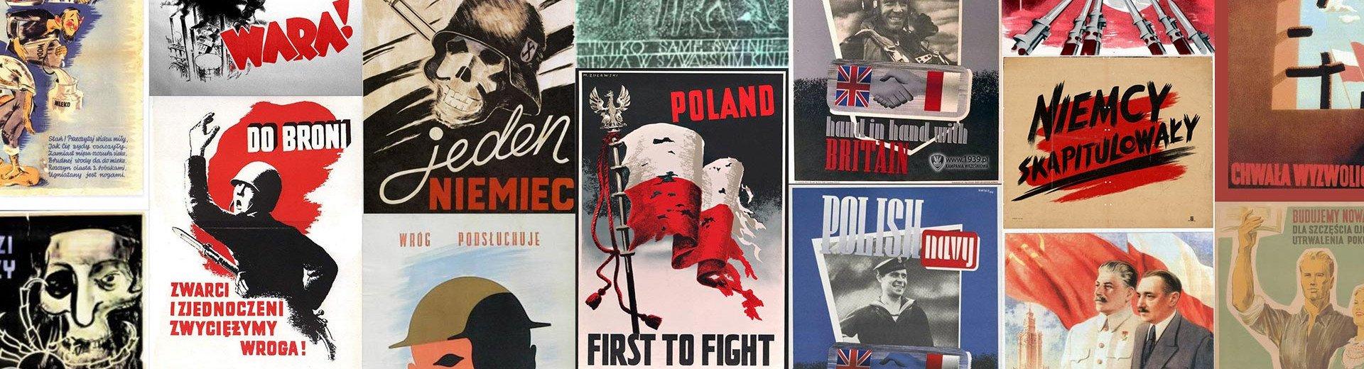 Okładka artykułu Plakat patriotyczny, wojenny i socrealistyczny w Polsce — Sztuka w służbie państwu