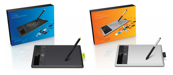 Wacom Bamboo 3 Pen and Touch oraz Wacom Bamboo 3 Fun Pen and Touch