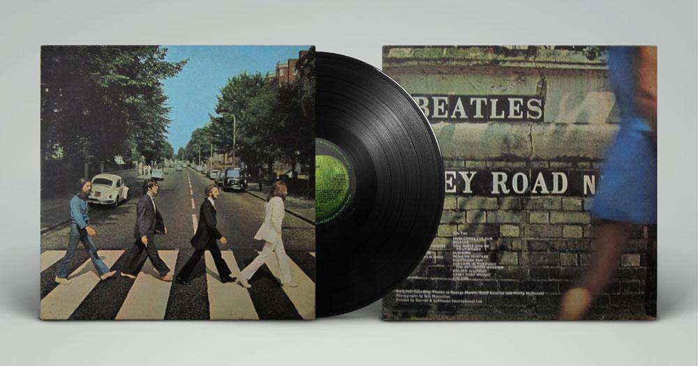 Okładka płyty the Beatles