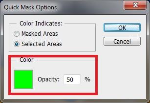 07 Opcje szybkiej maski Photoshop