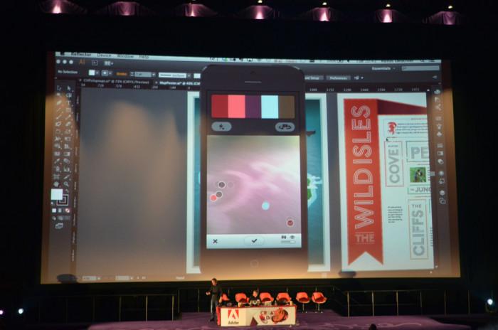 Rufus Deuchler tworzy paletę kolorów za pomocą telefonu