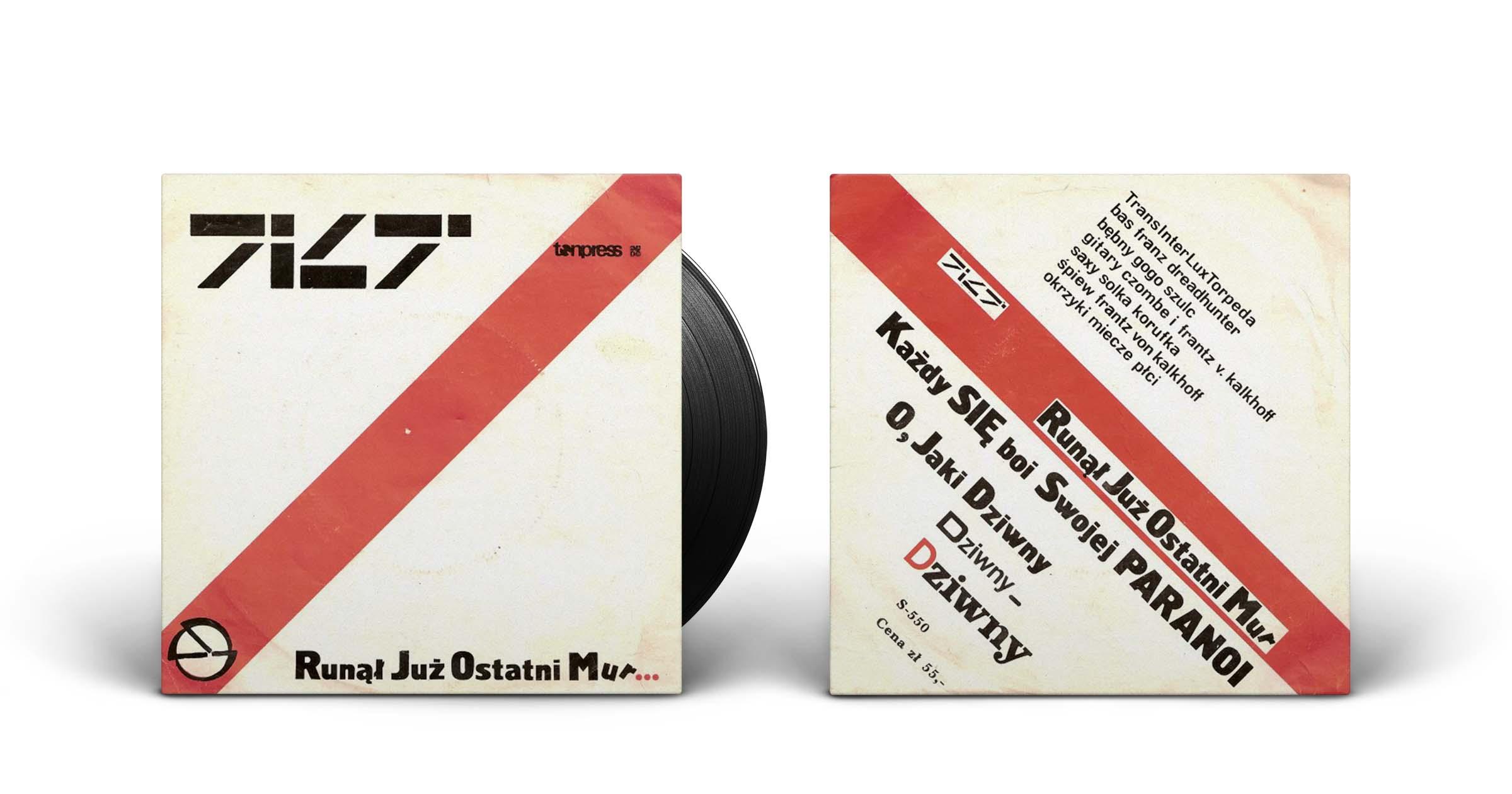 "Tilt ""Runął już ostatni mur"", singiel, Tonpress, 1985"