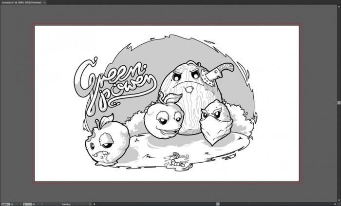 Tworzymy wektorową ilustrację w programie Illustrator (3)