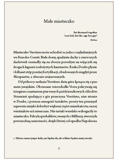 Ryc. 3. Motto przed tekstem zasadniczym rozdziału umieszczone pod jego tytułem