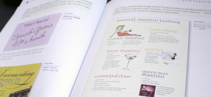 Przykładowe projekty w książce