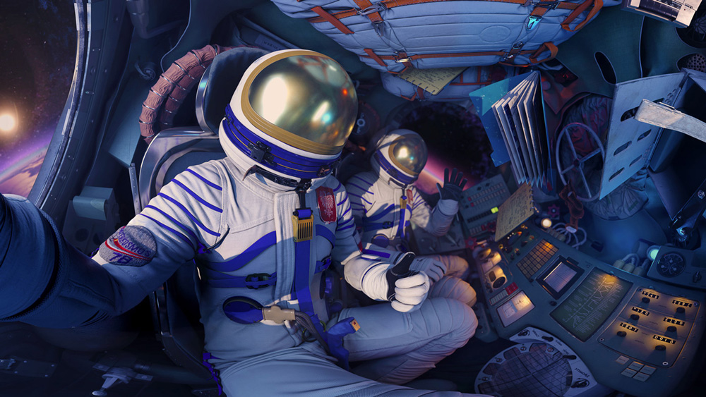 "MELT x VML x Samsung Polska ""The Missed Spaceflight - VR Experience"""