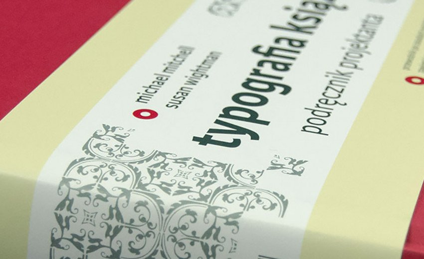 Okładka artykułu Typografia książki. Podręcznik projektanta — M.Mitchell, S.Wightman – recenzja