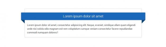 Naglowek-na-wstazce html css