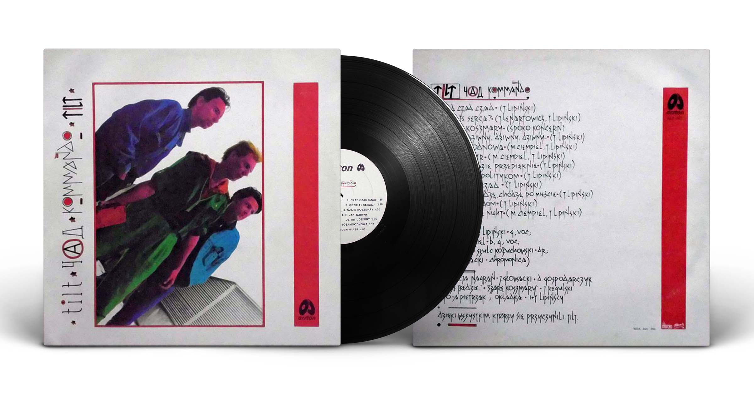 "Czad Kommando Tilt, ""Czad Kommando Tilt"", LP, Arston, 1990"