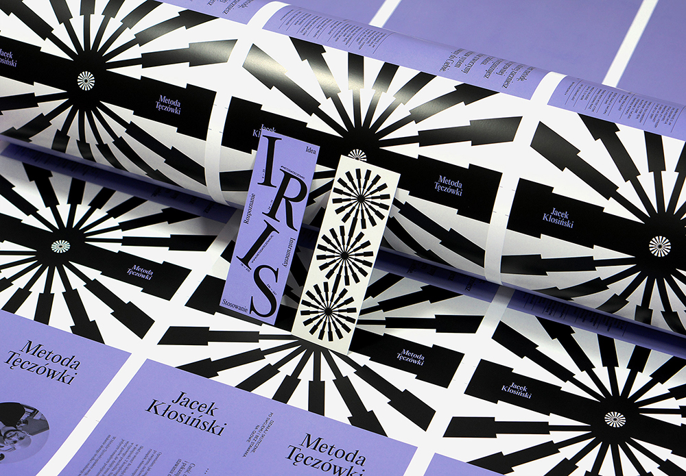 Metoda Tęczówki - Book & Layout Design, Martyna Wędzicka