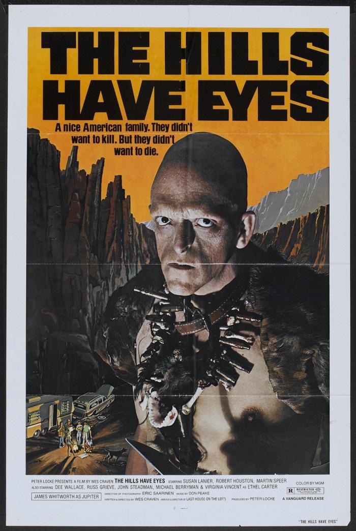 Plakat filmu Wzgórza mają oczy