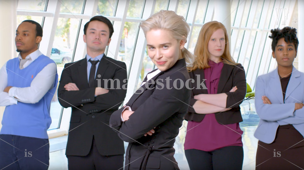 Emilia Clarke na stocku