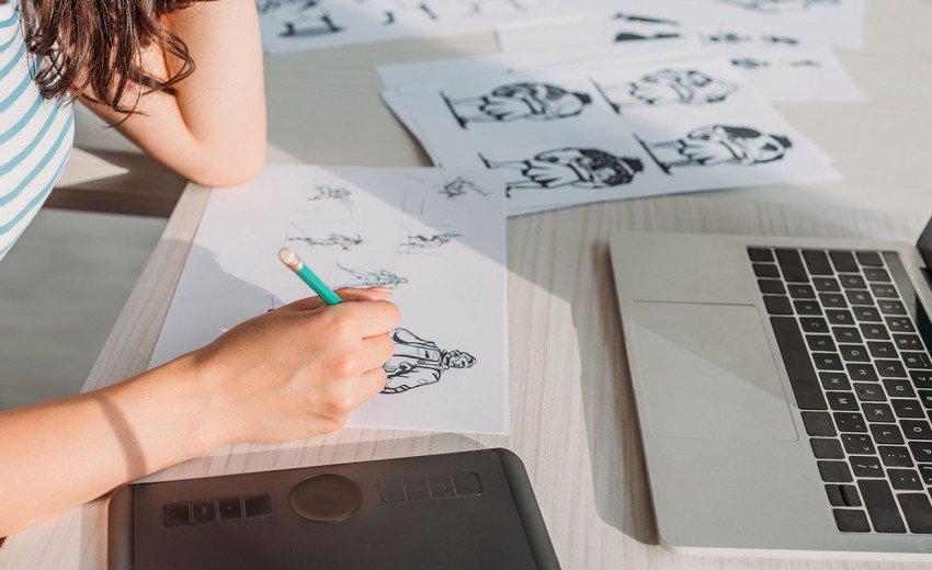 Okładka artykułu Ile wstępnych projektów graficznych pokazać klientowi? — Więcej nie zawsze znaczy lepiej