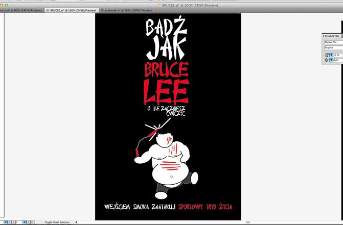 27 Plakat promujacy sztuki walki, wektor, illustrator