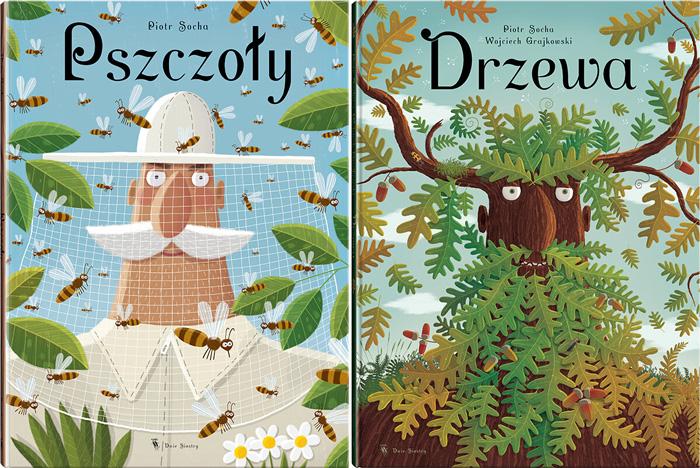 """""""Pszczoły"""", """"Drzewa"""",Piotr Socha"""