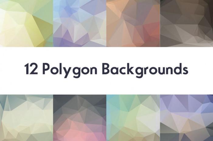 Freebie-Polygon-Backgrounds