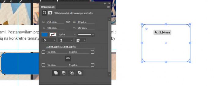 Zaokrąglone linie w Photoshopie i Illustratorze
