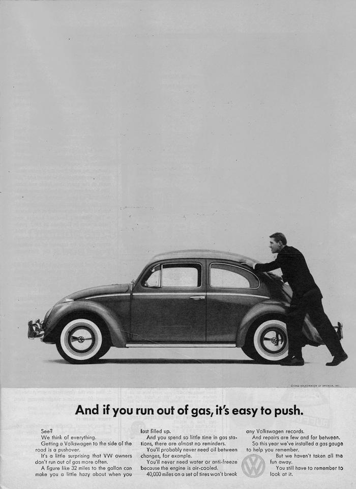 Reklama Volkswagena Garbusa