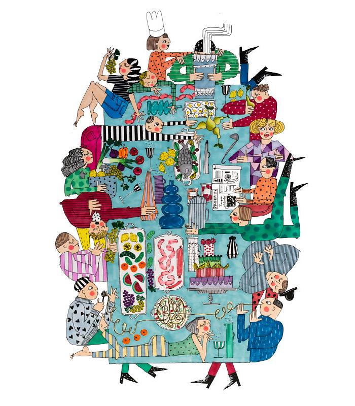 Plakaty i ilustracje - Ciekawi wystawcy na Targach Designu WZORY