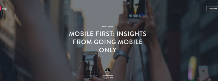 mobile-first-mobile-only
