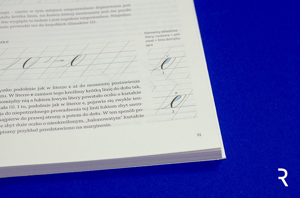 """Recenzja książek """"Piękna litera"""" – minuskuła karolińska i kursywa angielska"""