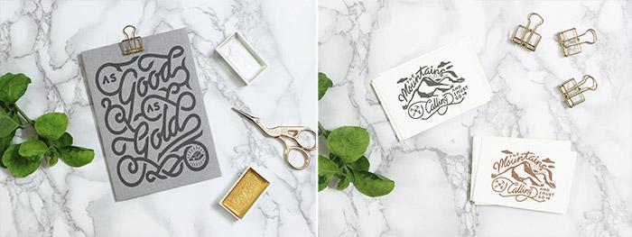 Branding na marmurze