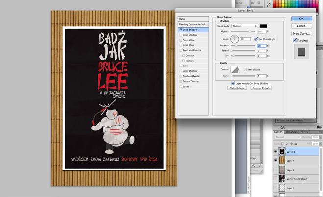 32 Plakat promujacy sztuki walki, wektor, illustrator